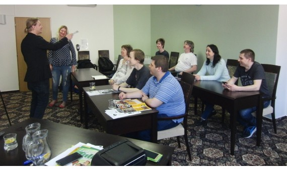 Intensive weekend English course at Hrotovice