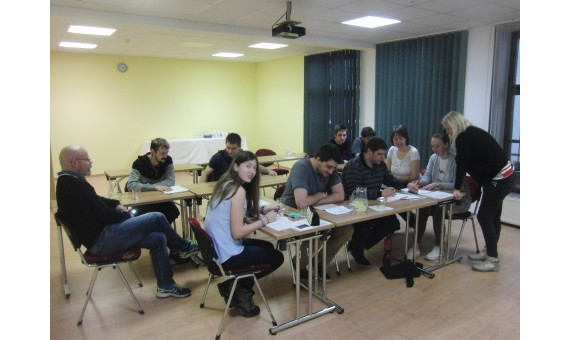 Intensive weekend English course in Hrotovice